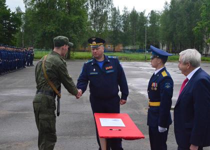 Начальник ФВО полковник В.С. Озарчук – об обучении на военных кафедрах Политеха