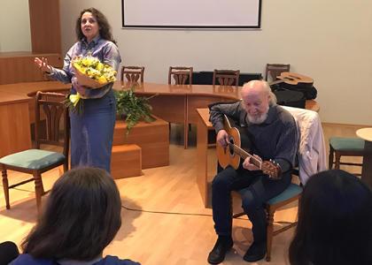 17 октября состоялось открытие нового учебного и концертного сезона Студенческого музыкального театра РГПУ им. А.И. Герцена.