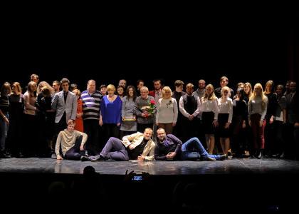 Студенческий театр Политеха отметил 45-летие