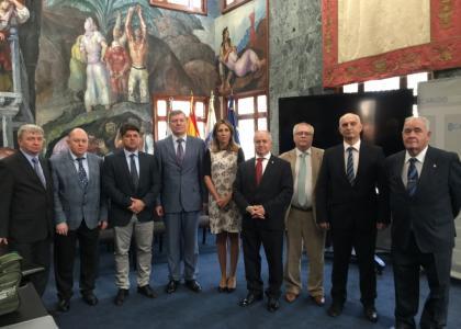 Встреча делегации ПГУПС спредставителями правительства острова Тенерифе