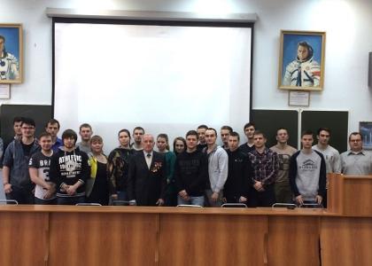 В «ВОЕНМЕХе» им Д.Ф. Устинова прошла встреча с ученым Е.В. Погудиным