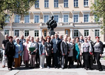 Выпускники Эксплуатационного факультета 1974 года встретились вродном вузе