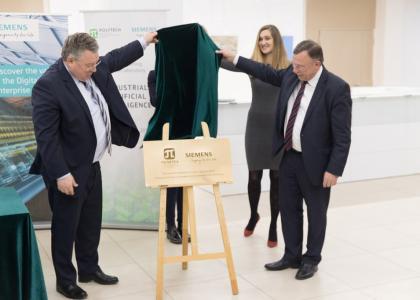 Политех и Siemens открыли совместную лабораторию «Промышленные системы искусственного интеллекта»