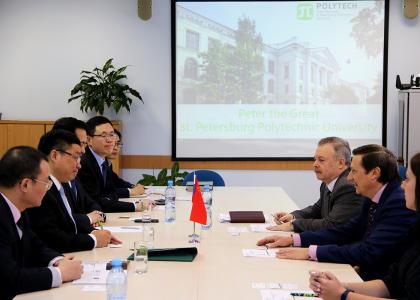 Развитие сотрудничества СПбПУ и Харбинского инженерного университета