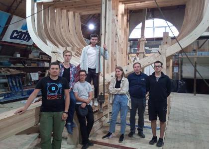 Преподаватели и студенты Корабелки приняли участие в Международном форуме деревянного судостроения «Матица-2021» в Архангельске
