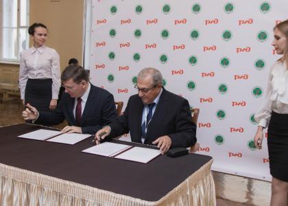 В ПГУПС подписано соглашение осотрудничестве сООО«Уральские локомотивы»