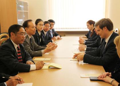 21 июня в РГПУ им. А.И. Герцена  состоялась встреча с делегацией Университета Чжэнчжоу (КНР)