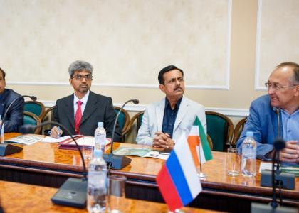 ПГУПС посетила делегация изРеспублики Индия