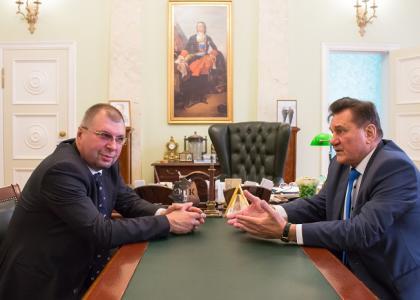 Военмех посетил депутат ЗАКСа Санкт-Петербурга Борис Павлович Ивченко