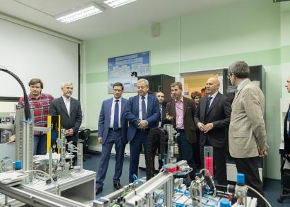 В Политехе открылась Лаборатория киберфизических систем в энергетике