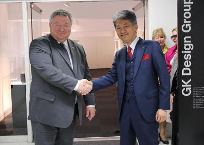 Политех, компания GK Design Group Inc и Университет Чиба (Япония) усиливают сотрудничество