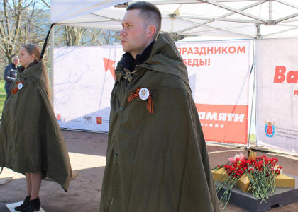 Проректор Политеха принял участие в Вахте Памяти