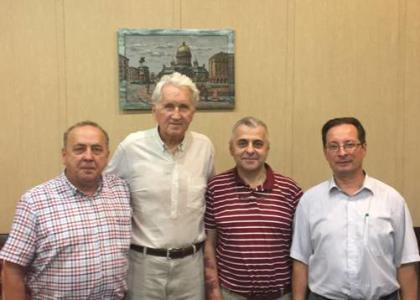 Экс декан младших курсов Б.П. Самодуров посетил СПбГПМУ
