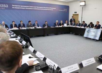 А.И. Боровков принял участие в заседании президиума Совета при Президенте РФ по модернизации экономики и инновационному развитию России