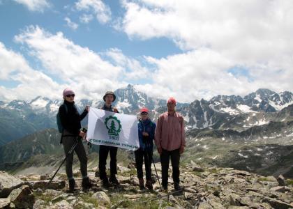 Студент Лесотехнического университета организовал туристический маршрут, проходящий по западному Кавказу