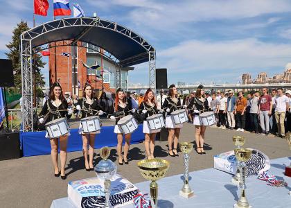 В Корабелке прошла Всероссийская шлюпочная регата «Весла на воду!»