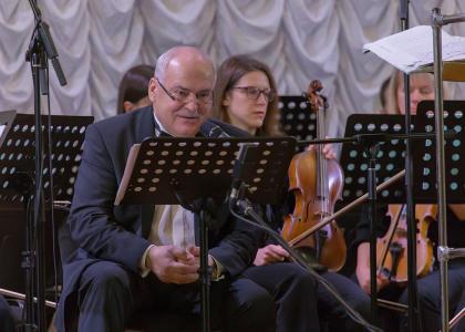 Народный артист России Николай Буров поздравил Политех с юбилеем