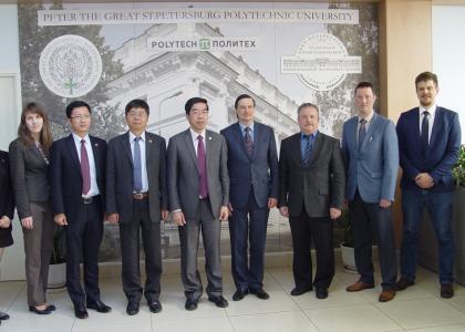 СПбПУ и Шанхайский университет Джао Тонг подписали договор о сотрудничестве и студенческих обменах