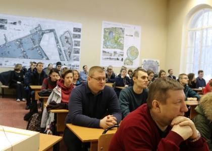 В институте ландшафтной архитектуры, строительства и обработки древесины СПбГЛТУ прошел День открытых дверей