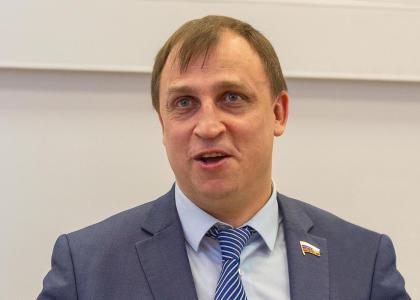 Визит депутата Государственной думы РФ С.А. Вострецова в СПбГМТУ