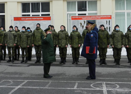 Военный учебный центр Политеха приступил к обучению студентов по программам военной подготовки офицеров запаса