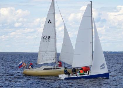 Яхтсмены Корабелки приняли участие в гонке на Кубок яхт-клуба «Балтиец»