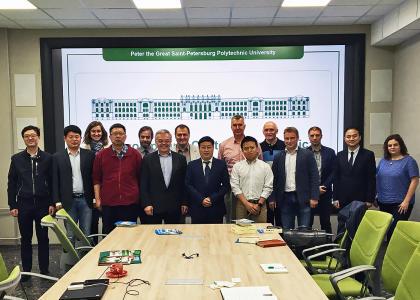 Политех и Восточно-Китайский педагогический университет: совместные планы на ближайшее будущее