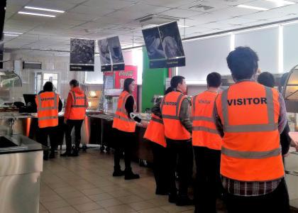 Студенты Лесотехнического университета посетили предприятие ИКЕЯ ИНДАСТРИ