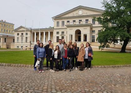 Знакомство немецких студентов сПГУПС
