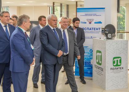 Губернатор Г.С. Полтавченко открыл Съезд Центров поддержки технологий и инноваций в Политехе
