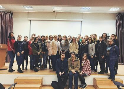 Студенты-волонтеры СПбГПМУ пообщались с психологами