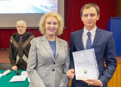 Студент СПбГМТУ получил стипендию имени В.Г. Шухова