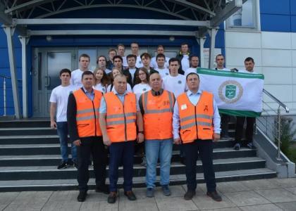 Студенческий отряд «Лужский»: практика, работа, профессиональные компетенции