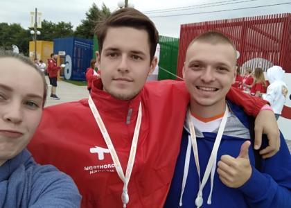 Студент СПбГПМУ — участник форума «Территория смыслов»