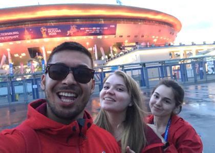 Студенты СПбГПМУ — волонтеры Чемпионата мира по футболу