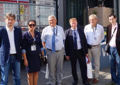 Представители ПГУПС приняли участие вмеждународной выставке InnoTrans— 2018
