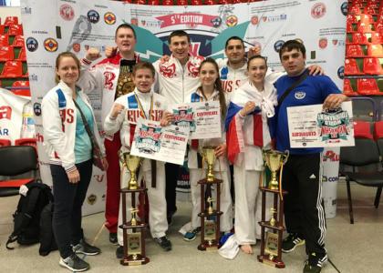 Студентка РГПУ им. А.И. Герцена стала чемпионкой мира по карате кикусинкай