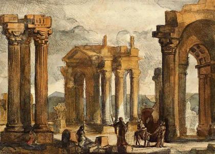 Вечная красота античной архитектуры на выставке в СПбГАСУ