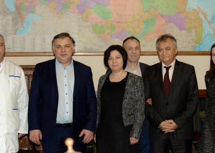 Педиатрический университет посетила Генеральный консул Израиля в Петербурге