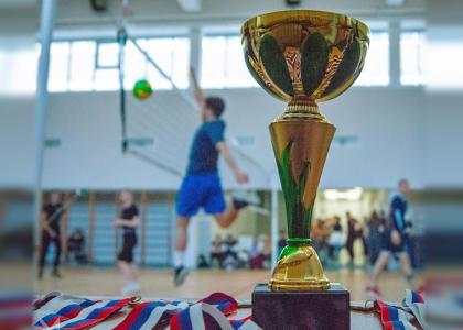 Чемпионат по волейболу прошел в Корабелке