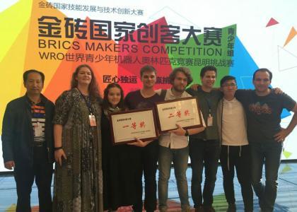 Разработки студентов Политеха признаны лучшими на чемпионате мейкеров стран БРИКС