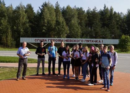 Студенты ПГУПС побывали на Невском пятачке