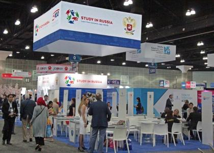 NAFSA-2017: ведущие российские вузы становятся центрами продвижения на глобальном рынке образовательных услуг