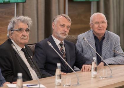 «Опыт и традиции»: почетные политехники встретились с ректором СПбПУ А.И. Рудским