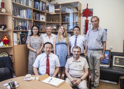 СПбГМТУ и Хэбэйский технологический университет готовы к сотрудничеству