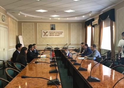 ПГУПС посетили преподаватели и студенты Сианьского транспортного института