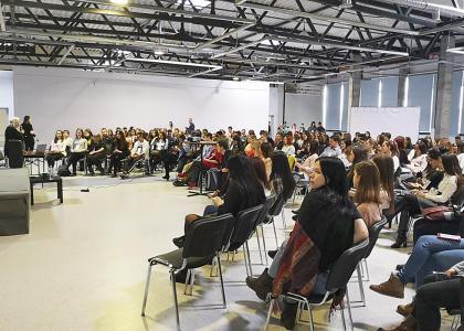 Корабелка приняла участие в организации общеобразовательного научного форума