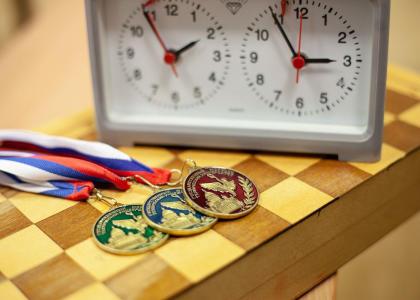 В шахматном турнире сразились участники Спартакиады вуза