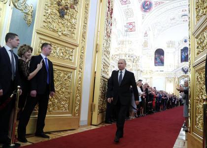 Ректор СПбПУ принял участие в торжественной церемонии инаугурации Президента РФ