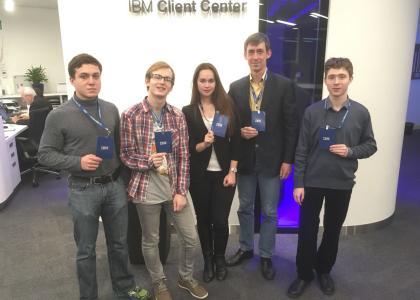 Проектанты бизнес-инкубатора СПбГМТУ успешно выступили в московском хакатоне